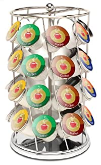 Keurig K-Cup Carousel Tower for 28 K-Cups, Chrome