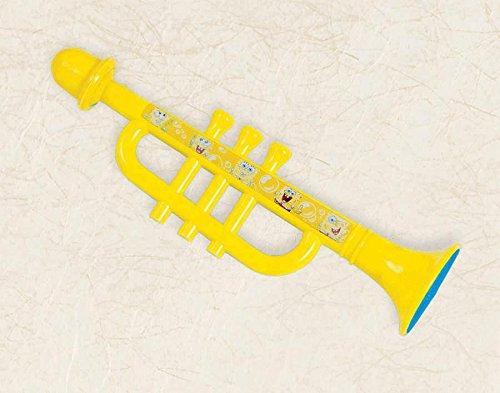 Spongebob Party Favors - 1 Plastic Trumpet - 1
