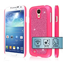 EMPIRE GLITZ Slim-Fit Case For Samsung Galaxy S4 - Glitter Glam Hot Pi