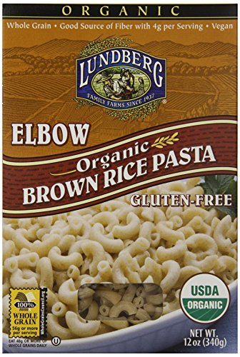 Lundberg Organic Brown Rice Pasta, Elbow, 12 Ounce (Pack of 12) (Rice Pasta Organic compare prices)