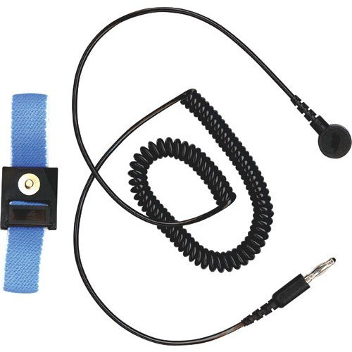 3M Wbb-Afws61M Adjustable Fabric Wrist Strap With 6Ft. Coiled Cord