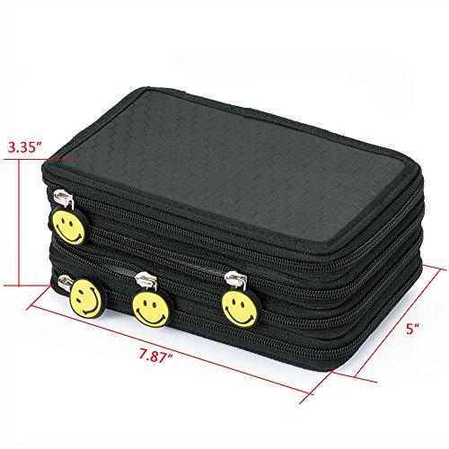 apgstore-super-large-capacity-multi-layer-students-pencil-case-pen-bag-pouch-stationary-case-makeup-