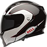 Bell Ghost Adult Revolver Evo Sports Bike Motorcycle Helmet - Black / Large