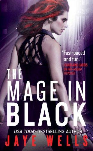 Image of The Mage in Black (Sabina Kane, Book 2)