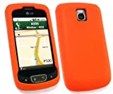 FLASH SUPERSTORE LG OPTIMUS ONE P500 SILICON CASE/COVER/SKIN ORANGE