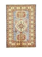 Eden Carpets Alfombra Kazak Super Beige/Multicolor 123 x 89 cm