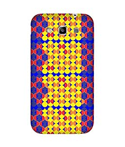 Stripes And Elephant Print-84 Samsung Galaxy Grand Quattro I8552 Case