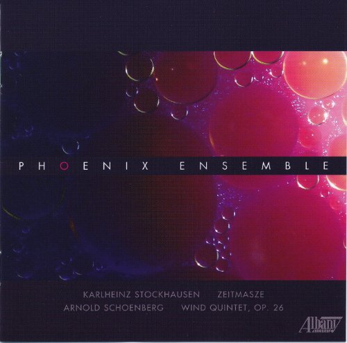 Buy Phoenix Ensemble Plays Stockhausen & Schoenberg From amazon