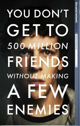 27 x 40 The Social Network Movie Poster