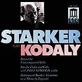 echange, troc Janos Starker - Kodaly - Sonate pour violoncelle seul / Duo pour violon et violoncelle