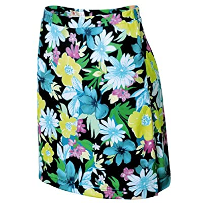 Monterey Club Ladies Dry Swing Daisy Print Bottom Skort #2883