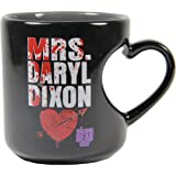 The Walking Dead Mrs. Daryl Dixon 12 oz Heart Mug