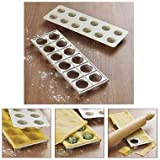 Lakeland Ravioli Pasta Maker Mould Press (Makes 12) Recipe Included