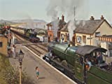 Crossing At Blue Anchor - Jigsaw Puzzle (1000 Piece) Transport, Steam Engines, Trains, Railways, Locomotives - Railway Recollections