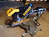 DEWALT DW708 12-Inch Double-Bevel Sliding Compound Miter saw