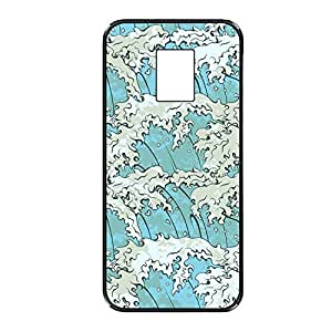Vibhar printed case back cover for Samsung Galaxy Note 3 WavesComing