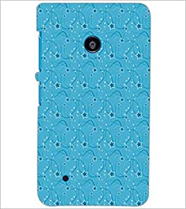 PrintDhaba Pattern D-5291 Back Case Cover for NOKIA LUMIA 530 (Multi-Coloured)