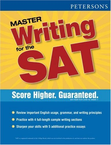 Peterson's Master Writing for the SAT