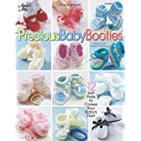 Precious Baby Booties: Crochetpar Carolyn Christmas