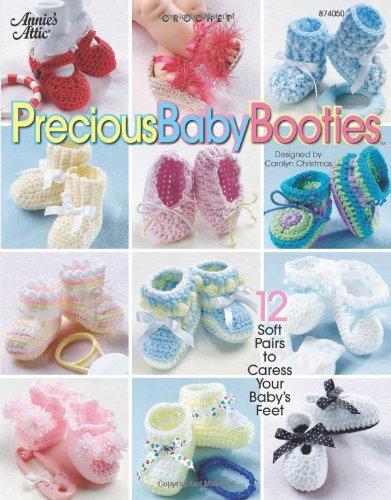Crochet Precious Baby Booties 8740501