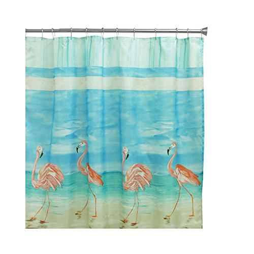Bacova Guild Flamingo Beach Shower Curtain