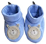 Babeez Baby Boys Booties (100% Cotton) to fit height 50 - 56 cms