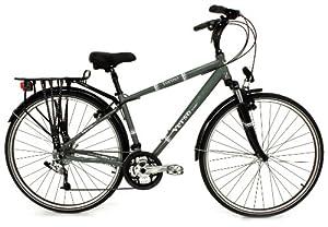 Verso Men's Torino 27-Speed Trekking Bike (Moss, 17-Inch)