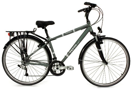 Verso Men's Torino 27-Speed Trekking Bike (Moss, 19-Inch)