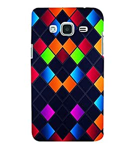 PRINTVISA Abstract Art Pattern Case Cover for SAMSUNG GALAXY J3 (2016) EDITION