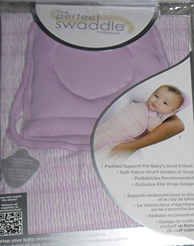 THE PERFECT SWADDLE Cocalo Small/Medium (Lavender Pin Stripe)