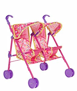 Minnie Mouse Twin Stroller