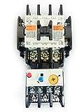 富士電機 標準形電磁開閉器 ケースカバー無 SW-N1-200V-5.5KW-AC200V
