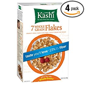 Amazon - Up to 46% off Kashi Cereals + Extra 15% offf