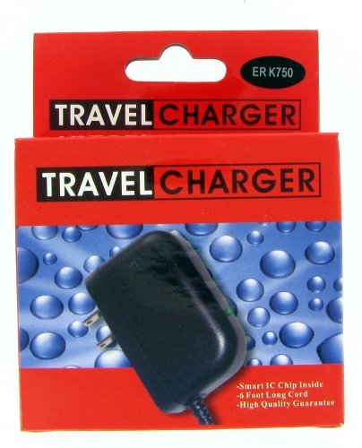 New Ericsson Z520/W550I/W600I/K750/W800/W580 Travel Charger W/Package front-124808
