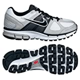 Nike 453399100 Air Pegasus+ 28 Women's Running Shoes (White/Black/Gray)