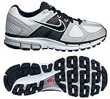 Nike 453399100 Air Pegasus+ 28 Women's Running Shoes (White/Black/Gray)