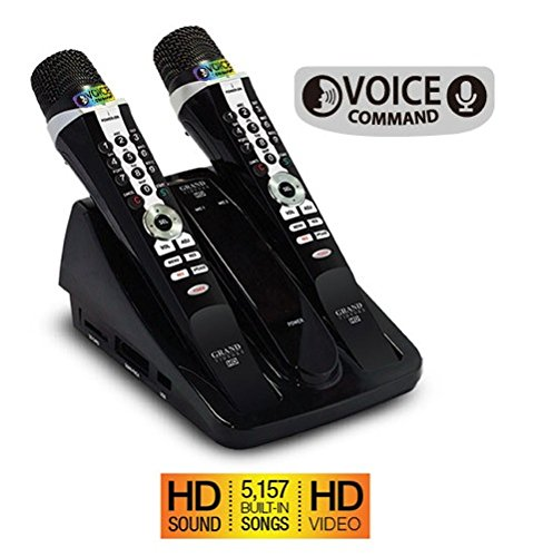 Buy Cheap GRAND VIDEOKE SYMPHONY 2.0 (WITH VOICE COMMAND FUNCTION, HD SOUND, 5157 BUILT-IN SONGS & H...