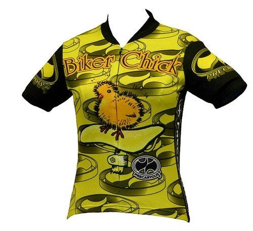 Buy Low Price World Jerseys Women's Biker Chick Cycling Jersey (Biker Chick)