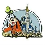 Disney Pin Where Dreams Come True Goofy with Castle 2007 Release