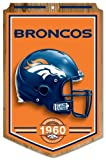 "Denver Broncos Wood Sign - 11""x17"" Established Design at Amazon.com"