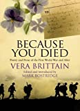Because You Died (0748118411) by Brittain, Vera