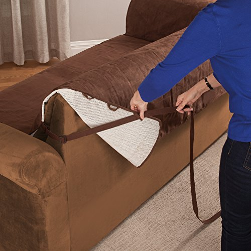 Furniture fresh new and improved anti slip grip for Furniture covers with straps