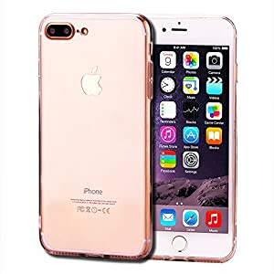 iPhone 7 Plus Case, NXC [Clear Series] Premium Shock Absorption Cushion + Slim Transparent PC back panel Scratch Resistant Protective Cases for Apple iPhone 7 Plus/5.5 inches-Clear