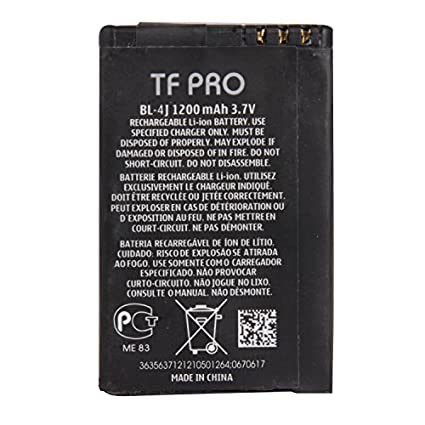 Tfpro-BL-4J-1200mAh-Battery-(For-Nokia)