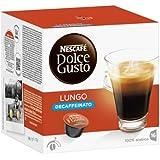 Nescafé Dolce Gusto Caffè Lungo Entkoffeiniert, 3er Pack (48 Kapseln)
