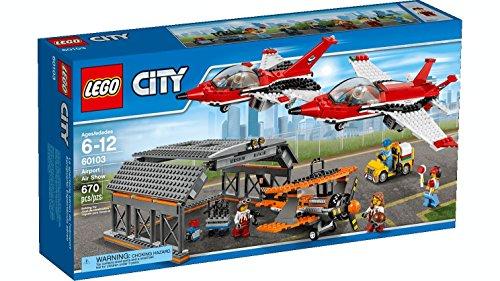 LEGO City 60103 - Set Costruzioni Show Aereo all'Aeroporto