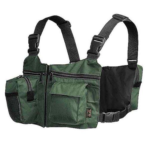 Fieldline fishing gear vest angler 39 s chest for Amazon fishing gear