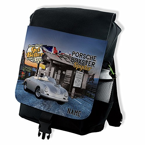 personalised-porsche-boxster-spyder-retro-classic-car-backpack-school-rucksack-overnight-laptop-bag-