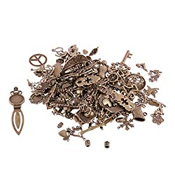 Imported 500g Mixed DIY Charms Beads Pendant Jewelry Making Findings Crafts-Bronze