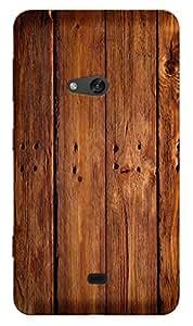 TrilMil Printed Designer Mobile Case Back Cover For Nokia Lumia 625